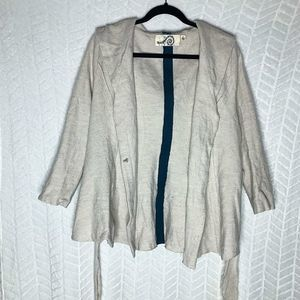 Anthropologie Hooded Cardigan Sweater - L